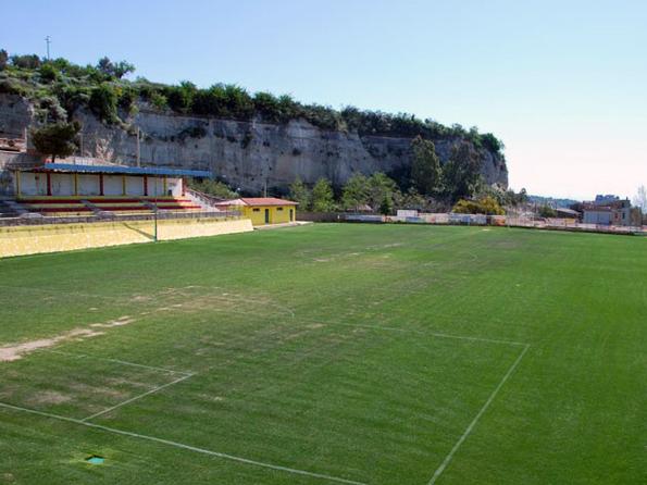 Lo stadio Nicola Coscia di Guardavalle