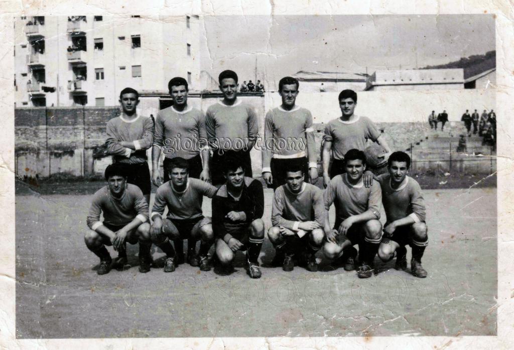 In piedi da sinistra: Amoroso, Prota, Latella, Alecci, Gambardella. Accosciati da sinistra: Bentivoglio, Versace, Brando, Pisano, Bonifacio, Infusino.