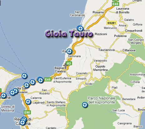 Come raggiungere Gioia Tauro  GioiaSport