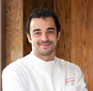 Chef Antonio Mermolia
