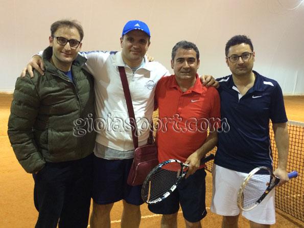 Da sinistra: V. Furuli, F. Rotolo, F. Tomaselli e M. Strangio