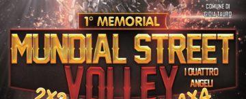 Locandina Memorial volley