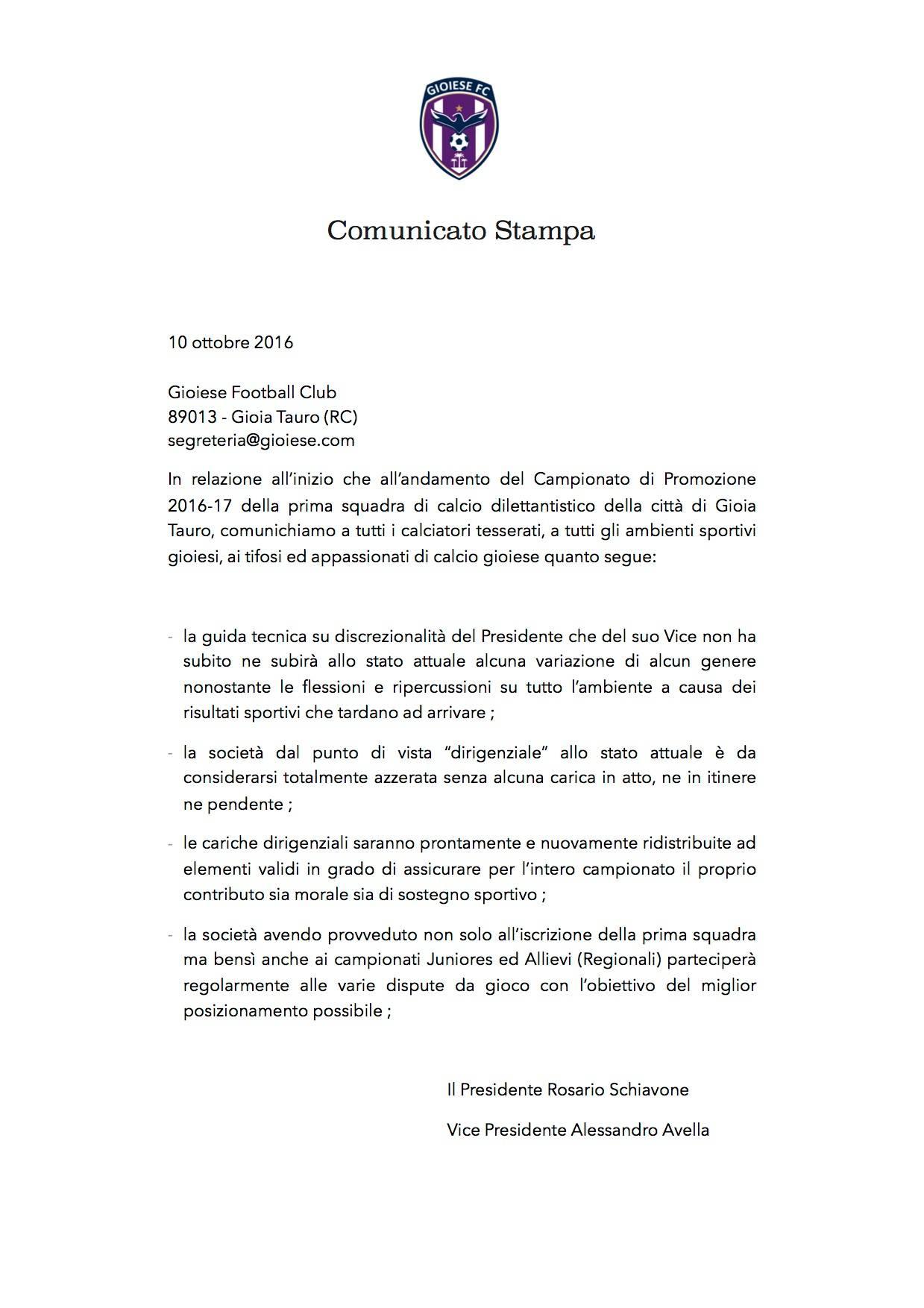 comunicato_gioiese