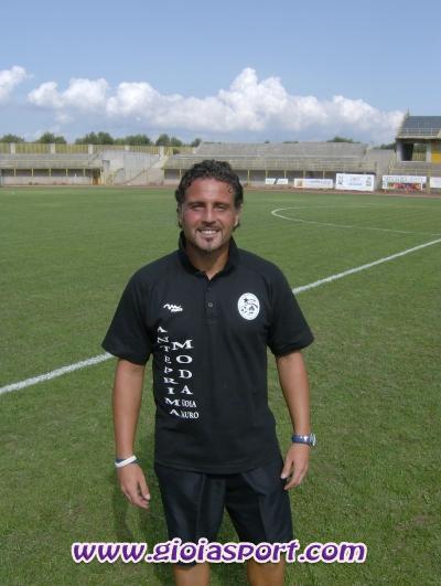 Graziano Nocera, allenatore-giocatore N. Gioiese