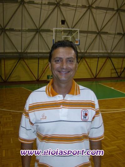 Valerio Napoli, coach Cestistica Gioiese