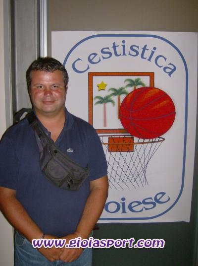 il dirigente della Gioiese, Peppe Murano